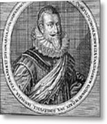Christian Iv (1577-1648) Metal Print