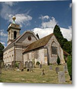 Church Of St. Lawrence West Wycombe  Metal Print