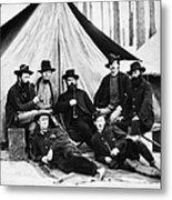 Civil War: Soldiers Metal Print