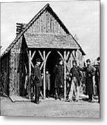 Civil War: Union Officers Metal Print