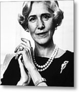 Clare Boothe Luce (1903-1987) Metal Print