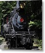 Climax Geared Locomotive Metal Print