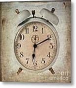 Clock Metal Print by Bernard Jaubert