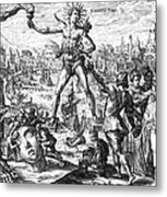 Colossus Of Rhodes Metal Print