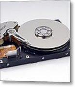 Computer Hard Disc Metal Print