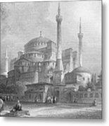 Constantinople: St. Sophia Metal Print