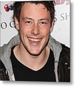 Cory Monteith At In-store Appearance Metal Print