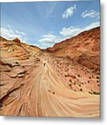 Coyote Buttes Metal Print