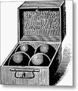 Croquet, C1900 Metal Print