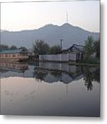 Dal Lake Srinagar Kashmir Metal Print
