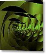 Decoupage Metal Print