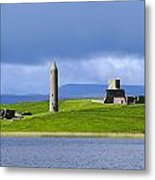 Devenish Monastic Site, Co. Fermanagh Metal Print