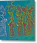 Dinka Wise Virgins Metal Print