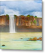 Dry Nur Waterfall Metal Print