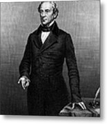 Edward Everett (1794-1865) Metal Print by Granger