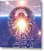 Electronic World, Artwork Metal Print
