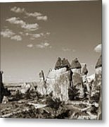 Fairy Chimney In Goreme Metal Print