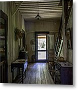Farmhouse Entry Hall And Stairs Metal Print