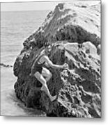 Film Still: Beach Metal Print