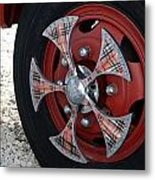 Fire Truck Spinners Metal Print