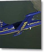 Flying With The Aero L-39 Albatros Metal Print