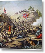 Fort Pillow Massacre, 1864 Metal Print by Granger