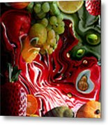 Fruit Medley Metal Print