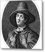 George Fox (1624-1691) Metal Print by Granger