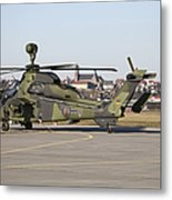 German Tiger Eurocopter At Fritzlar Metal Print