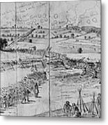 Gettysburg, 1863 Metal Print