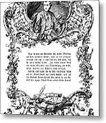 Goethe: Werther Metal Print