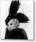 Goin To Town, Mae West, 1935 Metal Print by Everett