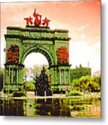 Grand Army Plaza Metal Print