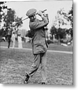 Harry Vardon (1870-1937) Metal Print