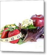 Healthy Diet Metal Print by Photo Researchers, Inc.