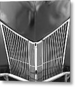 Hot Rod Grill Metal Print