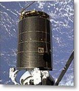 Intelsat Vi, A Communication Satellite Metal Print