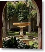Islamic Fountain Metal Print