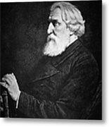 Ivan Turgenev (1818-1883) Metal Print
