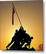 Iwo Jima Memorial Metal Print