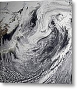 January 2, 2009 - Cloud Simulation Metal Print by Stocktrek Images