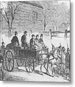 John Brown, American Abolitionist Metal Print