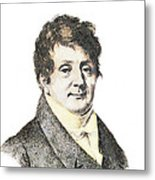 Joseph Fourier, French Mathematician Metal Print