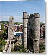 Lewes Castle Metal Print