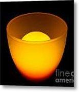 Light Lamp Metal Print by Odon Czintos