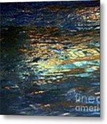 Light On Water Metal Print