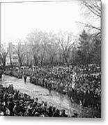 Lincolns Inauguration Metal Print