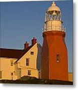 Long Point Lighthouse, Twillingate Metal Print