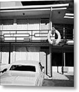 Lorraine Hotel Site Of The Murder Of Martin Luther King Now The National Civil Rights Museum Memphis Metal Print