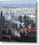 Magnitogorsk Iron And Steel Works Metal Print